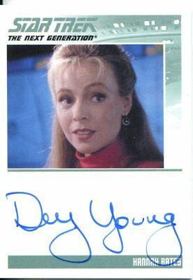 Star Trek The Complete Next Generation Series 2 Autograph Dey Young