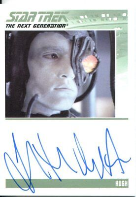 Star Trek The Complete Next Generation Series 2 Autograph Jonathan Del Arco