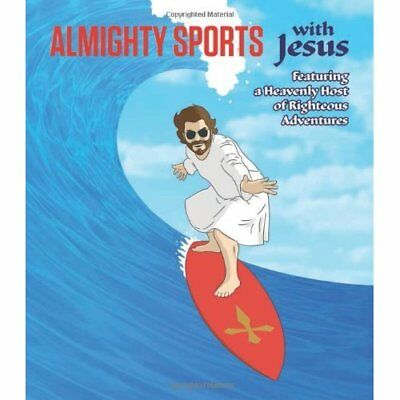 Almighty Sports with Jesus - Board book NEW Sam Stall(Autho 2013-09-12