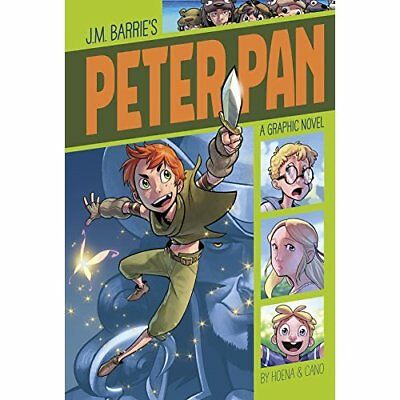 Peter Pan (Graphic Revolve: Common Core Editions) - Paperback NEW James Matthew