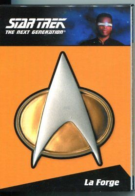 Star Trek The Complete Next Generation Series 2 Communicator Pin CP6 La Forge