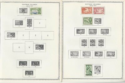Cayman Islands 1901 to 1983 Minkus Specialty Pages, 42 Pages