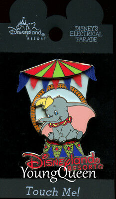 DCA Disney Electrical Light Parade Dumbo the Elephant Circus Float Le Pin