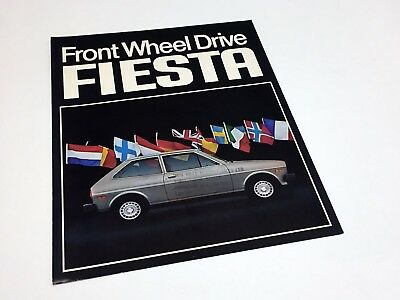 1979 Ford Fiesta Preview Brochure