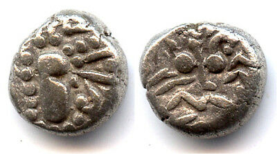 Nice rare anonymous silver drachm (ca.1000-1200 AD), Silharas of Khankan, India