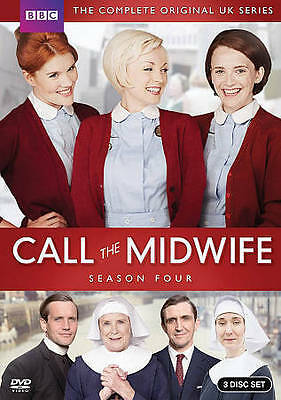 Call the Midwife: Complete Fourth Season 4 Four (DVD, 2015, 3-Disc Set) New