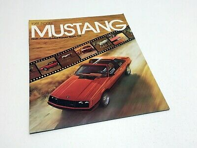 1981 Ford Mustang Brochure