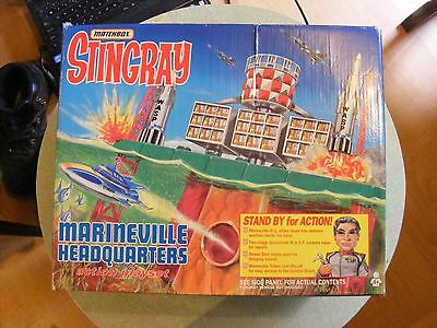Matchbox Stingray Marineville Hq Action Playset (Boxed)  £25.00P Buy-It-Now