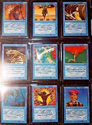 MtG Magic Lot Collection Alpha Beta Common Uncommon 1993 Old School Vintage VHTF