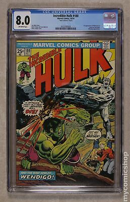 Incredible Hulk (1962-1999 1st Series) Mark Jewelers #180MJ CGC 8.0 0323182003
