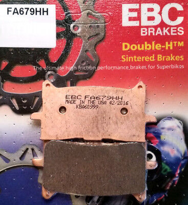 Sintered Double-H Brake Pads EBC FA679HH 16-17 Honda CRF1000L Africa Twin