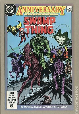 Swamp Thing (1982 2nd Series) #50 VG 4.0