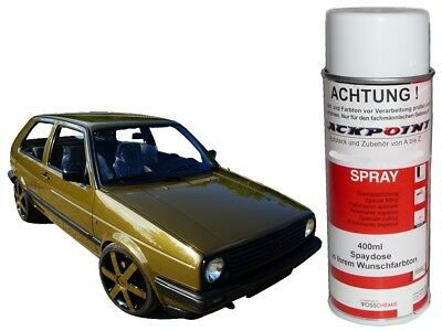 1 Spray Can 400ml BASE COAT DARK OLIVE PEARL Car Paint Trend Tuning lackpoint VW