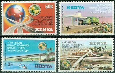 Kenya Scott #158-161 MNH African Highway Conference $$