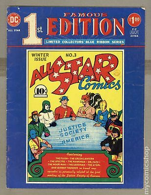 Famous First Edition All Star Comics (1975) #F-7 GD/VG 3.0