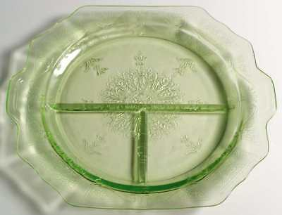 Anchor Hocking PRINCESS GREEN Grill Plate 6324