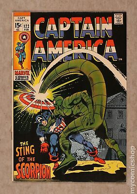 Captain America (1968 1st Series) #122 VF- 7.5
