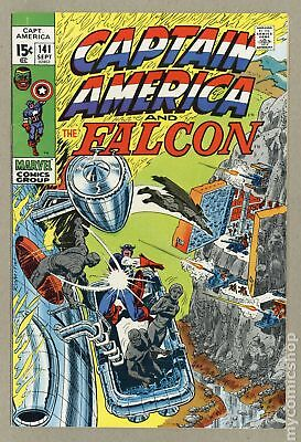 Captain America (1968 1st Series) #141 VF- 7.5