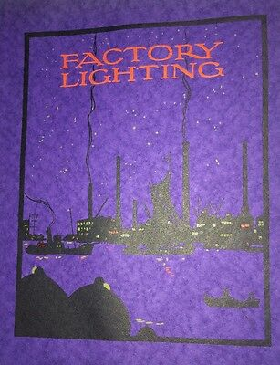 Factory Lighting By lloyd Incredible   Cover Design Graphic  Art 1923