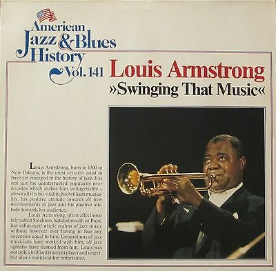 American Jazz & Blues History Vol 141 - Louis Armstrong: Swingin That Music (LP)