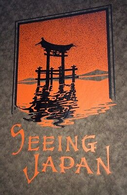 Seeing Japan Travel Asia Asian Oriental Interests Cover  Art 1923