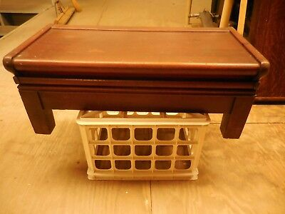 Globe Wernicke  3/4 Mahogany Stacking Bookcase Top and Base