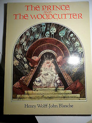 The Prince and the Woodcutter Henry Wolff John Blanche illustrations Warhammer
