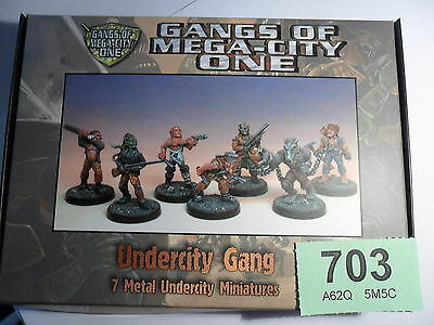 Judge Dredd Miniature Game Undercity Gang Werewolf Mongoose 2000 AD Lot 703