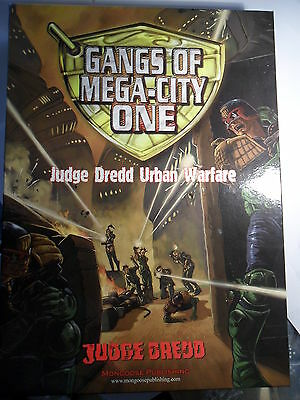 Judge Dredd Miniature Game Gangs of Mega City One Mongoose 2000 AD unused