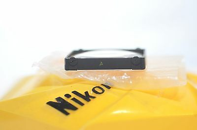 Nikon Focusing screen A Yellow for early F or F2 35 mm SLR film cameras