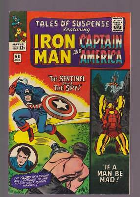 Tales of Suspense # 68  The Sentinel and the Spy !  grade 7.5 scarce book !