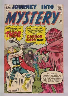 Journey into Mystery # 90  The Carbon Copy Man !  grade 5.0  scarce book !