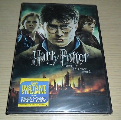 Sealed New ~ Harry Potter and the Deathly Hallows: Part II (DVD, 2011)(Part 2)