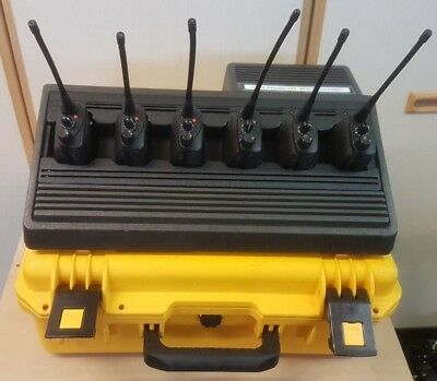 Motorola GP344 UHF Radio & Charger for Taxi Security Farm Shoot Airsoft