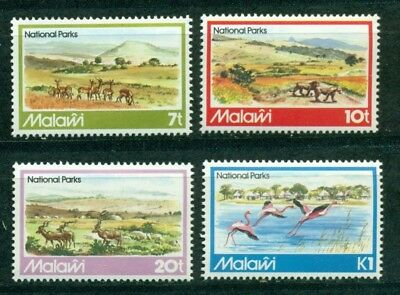 Malawi Scott #394-397 MNH Wildlife in National Parks Fauna CV$4+