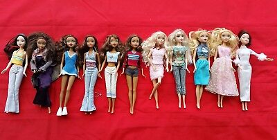 Barbie doll lot My Scene AA black African American Madison OOAK OR PLAY blonde S