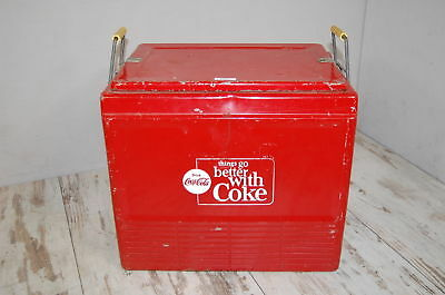 Coca Cola Vintage Picknick Cooler Kühlbox