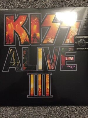 KISS Alive III (3) 2 x 180gm Vinyl Remastered Lp - New and Sealed