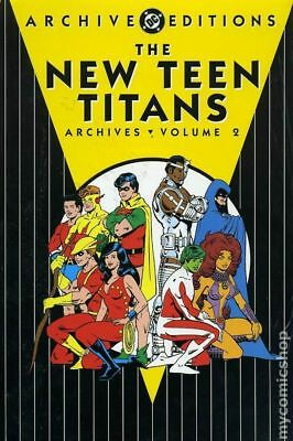 DC Archive Editions New Teen Titans HC (1999-2008 DC) #2-1ST VF