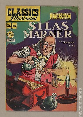 Classics Illustrated 055 Silas Marner (1949) #1 FN 6.0