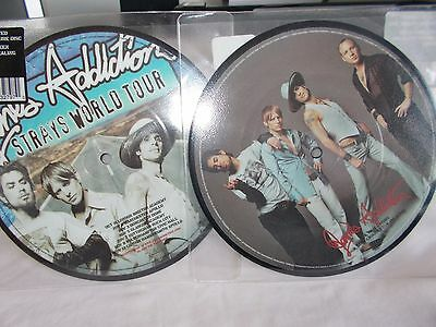 "Jane's Addiction - True Nature/been Caught Stealing (Live)-Uk 7"" Pic/disc Vinyl"