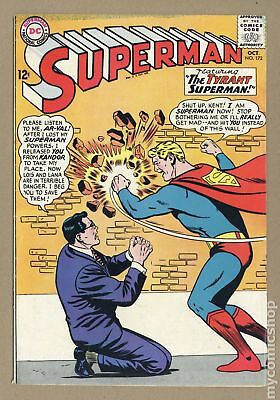 Superman (1939 1st Series) #172 VG 4.0 LOW GRADE
