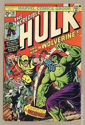 Incredible Hulk (1962-1999 1st Series) #181 VG- 3.5