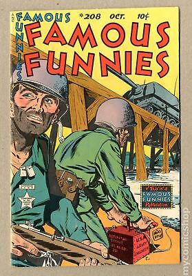 Famous Funnies (1934) #208 VG 4.0