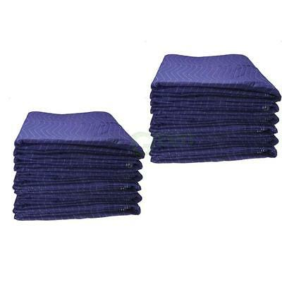 New Moving Blankets Deluxe - 12 Pack Protective Shipping 48lbs for One Dozen