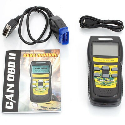 10×New OBD2 OBDII EOBD Scanner Car Code Reader Data Tester Scan Diagnostic Tool