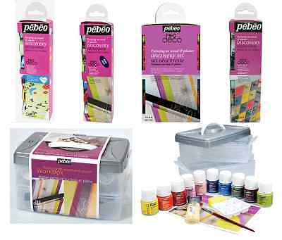 Pebeo Deco Acrylic Painting Discovery Sets Decorative Paint For Wood Plaster