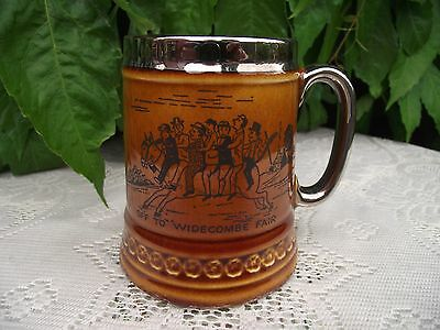 Vtg Lord Nelson Pottery Tankard Mug Off to Widecombe Fair Old Uncle Tom Cobley