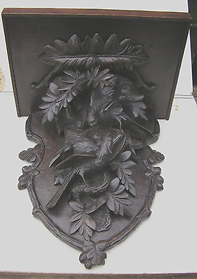 Carved Bracket Clock Bracket.
