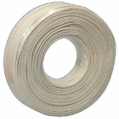 4 Core Flat Ivory Phone Data Telephone Cable/Flex/Wire 150 Mtr Reel